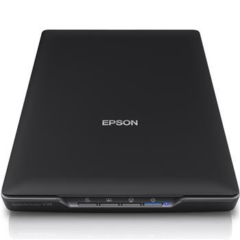 爱普生 EPSON 平板式照片文档扫描仪 V39