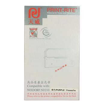 天威 PRINT-RITE 色带框/色带架 ND210(NIXDORF ND210) RFN418PPRJ 11mm*7m (紫色)