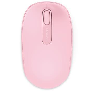 微软 Microsoft 无线鼠标 1850 (樱花粉)
