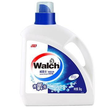 威露士 Walch 深层洁净洗衣液 3kg/瓶