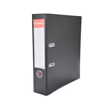 易达 Esselte 半包胶档案夹 27107P A4 3寸 (黑色) 40个/箱