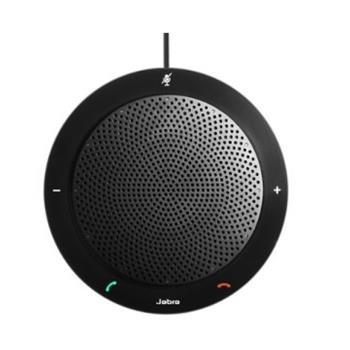 捷波朗 Jabra 免提会议扬声器 SPEAK 410 MS (黑色) 微软版