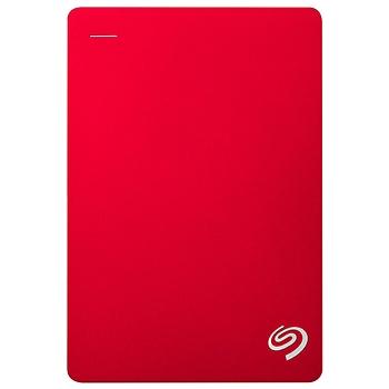 希捷 Seagate 移动硬盘 STDR4000301 4TB (红色) Backup Plus 新睿品 2.5英寸