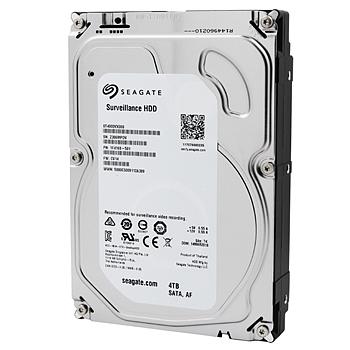 希捷 Seagate 监控级硬盘 ST4000VX000 4TB SV7系列 5900转64M SATA3