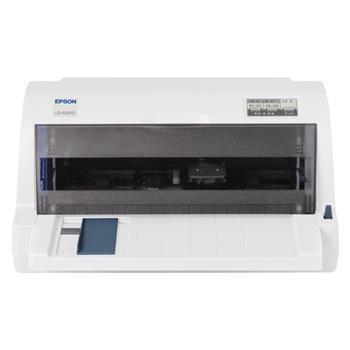 爱普生 EPSON 82列平推票据针式打印机 LQ-635KⅡ (24针 最大打印厚度:0.32mm)