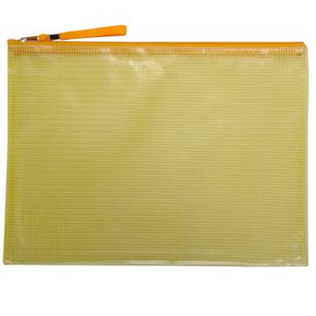 远生 Usign 网格拉链袋 US-A56 A4 (红色、蓝色、黄色、绿色) (颜色随机)