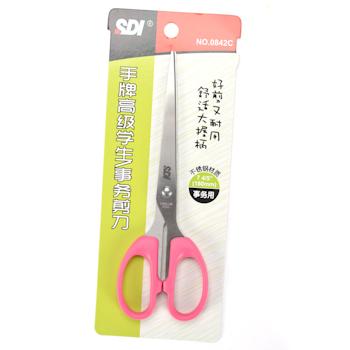 手牌 SDI 剪刀 SD-0842C 180mm (蓝色、灰色、紫色) 12把/盒 (颜色随机)