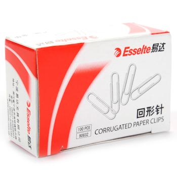 易达 Esselte 回形针 90832 28mm 100枚/盒