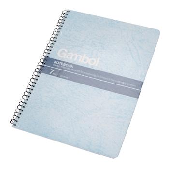 渡边 Gambol 螺旋装订笔记本 S5507 A5 (混色) 50页/本 12本/封 (颜色随机)
