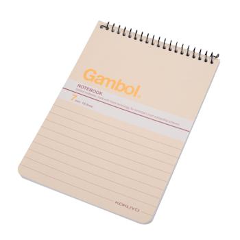 渡边 Gambol 螺旋装订笔记本 SA6506X A6 (混色) 50页/本 12本/封 (颜色随机)