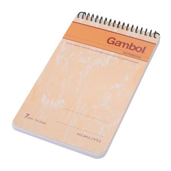 渡边 Gambol 螺旋装订笔记本 SA7503 A7 (混色) 50页/本 24本/封 (颜色随机)