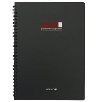 渡边 Gambol PP面双螺旋装订笔记本 DS6000 B5 (黑色) 60页/本