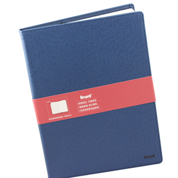 前通 fornt 硬面 记事本 DV64-A501 A5 (蓝色) 100页/本 (交叉纹)