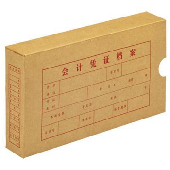 立信 档案纸盒 2993 24K (本色)