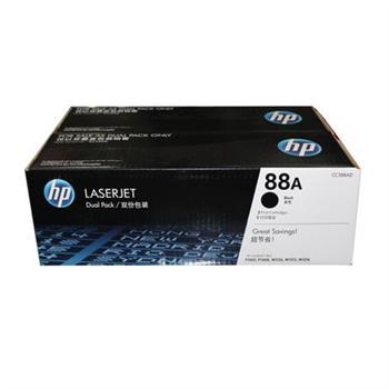 惠普 HP 双包装硒鼓 CC388AD 88A (黑色)