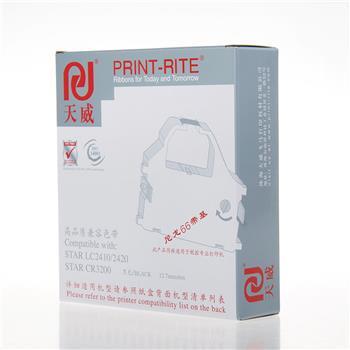 天威 PRINT-RITE 色带框/色带架 STAR-LC2410/LC2420/CR3240/NX650 RFS019BPRJ2 (黑色)