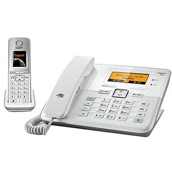 集怡嘉 数字无绳答录电话机 C811A 一拖一子母机 (白色)