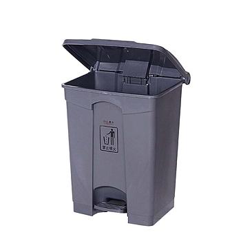中天 脚踏式加厚垃圾桶 50L (灰色) (阿里专用)