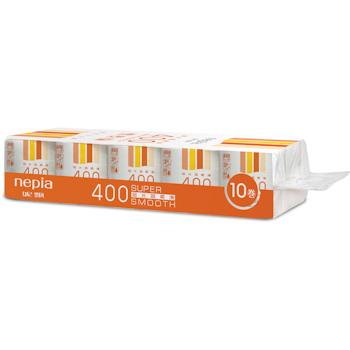 妮飘 nepia 超长超柔滑卷筒卫生纸三层 TRB10/TRB10J 400段/卷 10卷/提 10提/箱