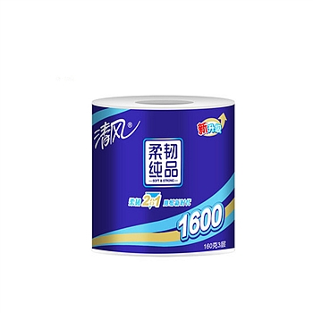 清风 Breeze 超质感卷筒卫生纸三层 B20AT6XC/B20A6XR 314段/卷 10卷/提 6提/箱