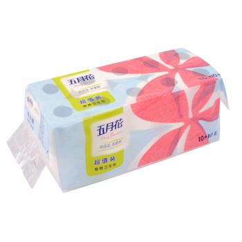 五月花 may flower 卷筒卫生纸 A11010S/A1101X0 双层 78.5g/卷 20卷/提 6提/箱