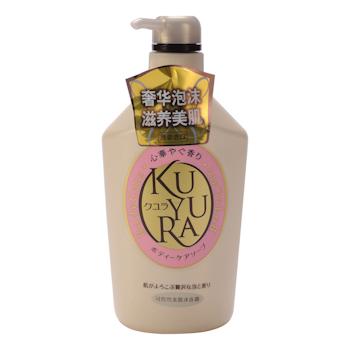 资生堂 SHISEIDO 可悠然 美肌沐浴乳 550ml/瓶 9瓶/箱 (欣怡幽香)