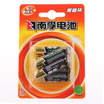 南孚 NANFU 碱性电池 7号 6节/卡