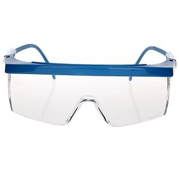 3M 防护眼镜 1711AF (蓝色镜架,透明镜片)