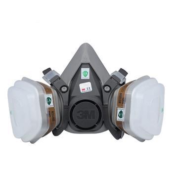 3M 半面具 6200 2个/包 (双管)