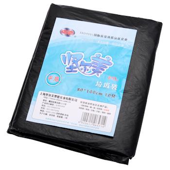 坚尔美 Jem 垃圾袋 80cm*100cm (黑色) 10只/包 40包/箱