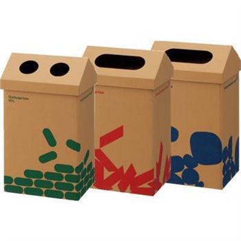 纸制大型分类垃圾桶