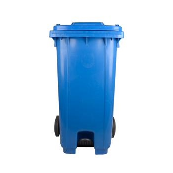 邦洁 大型垃圾桶 脚踏式 240l(蓝色)