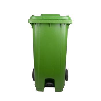 邦洁 大型垃圾桶 D206-GN 73.2*59*101cm 240L (绿色) ( 脚踏式中踏)