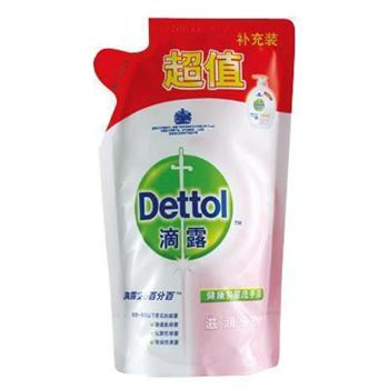 滴露 Dettol 健康抑菌洗手液 450ml/袋 12袋/箱 (滋润倍护)(补充液)