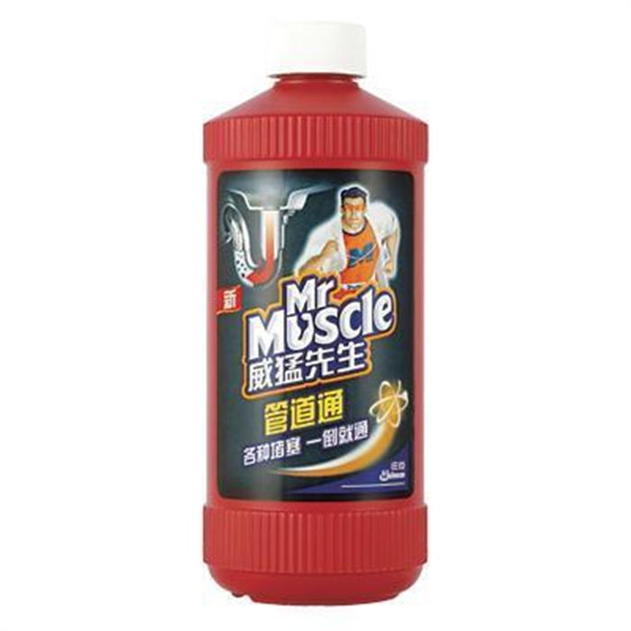 威猛先生 Mr Muscle 管道通 500g/瓶 12瓶/箱