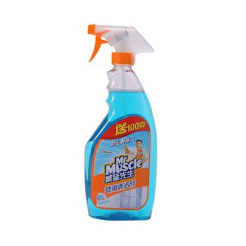 威猛先生 Mr Muscle 玻璃清洁剂 500g/瓶 24瓶/箱