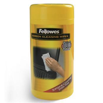 范罗士 Fellowes 专业屏幕清洁纸巾 CRC99703