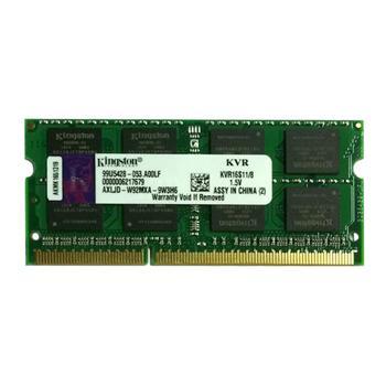 金士顿 Kingston 笔记本内存 KVR16S11/8G DDR3 1600 8G