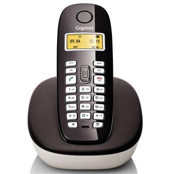 集怡嘉 数字无绳电话机单机 A680 (卡布基诺黑)