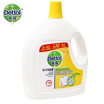 2.5L+1L滴露衣物除菌液柠檬
