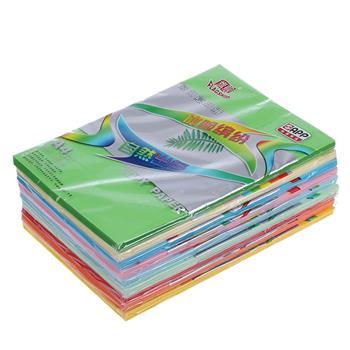 旗舰 FLAGSHIP 彩色复印纸 A4 80g (浅绿色) 100张/包