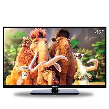 海信(Hisense) 42英寸 窄边网络 LED电视 LED42EC260ID ((黑色))