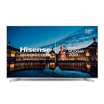 海信 Hisense 智能电视 LED58EC550UA (银白) 58英寸