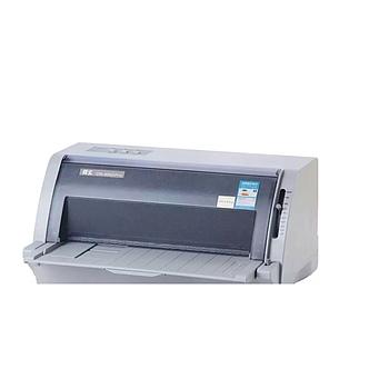 得实82列平推针式打印机 DS-650II 1+6份拷贝 打印厚度0.58mm
