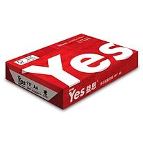 益思 YES 高白多功能复印纸 A4 70g  500张/包 5包/箱