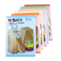 晨光 M&G 彩色复印纸 APYVPB0239 A4 80g (深红色) 100张/包