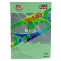 旗舰 FLAGSHIP 彩色复印纸 A4 80g (浅绿色) 100张/包 (仅限上海北京可售)