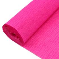 国产 皱纹纸 400cm*50cm 80-06 (桃红)