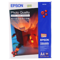 爱普生 EPSON 照片质量喷墨打印纸 S041061 A4 102g 100张/包