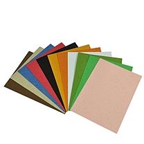 国产 皮纹纸 100张/包 A4 (颜色随机)